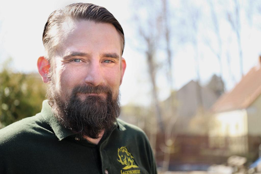 Daniel Dyck - Leiter der Jagdschule